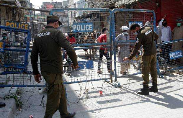Enforcement of smart lockdown