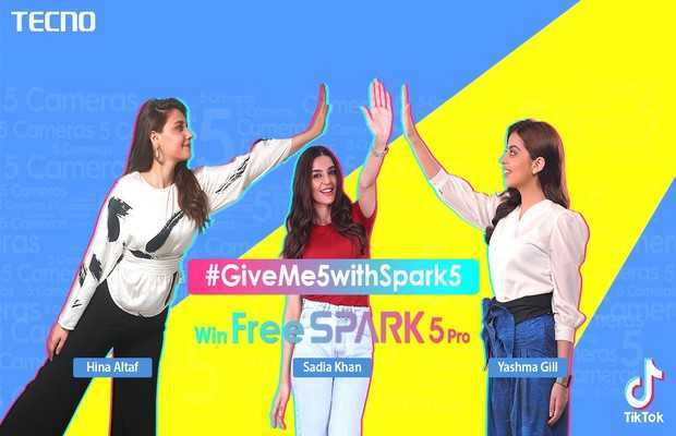 GiveMe5withSpark5