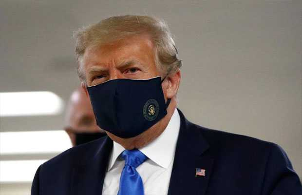 Trump Covered Face