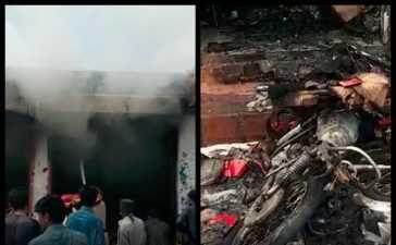 blast in bazaar in Turbat