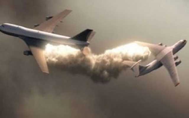 Planes Collide in Mid-air in US