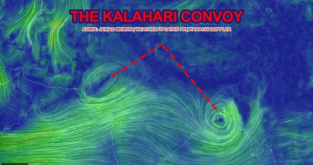 the kalahari convoy