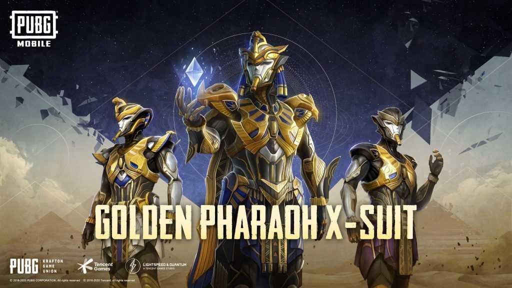 golden pharaoh x-suit