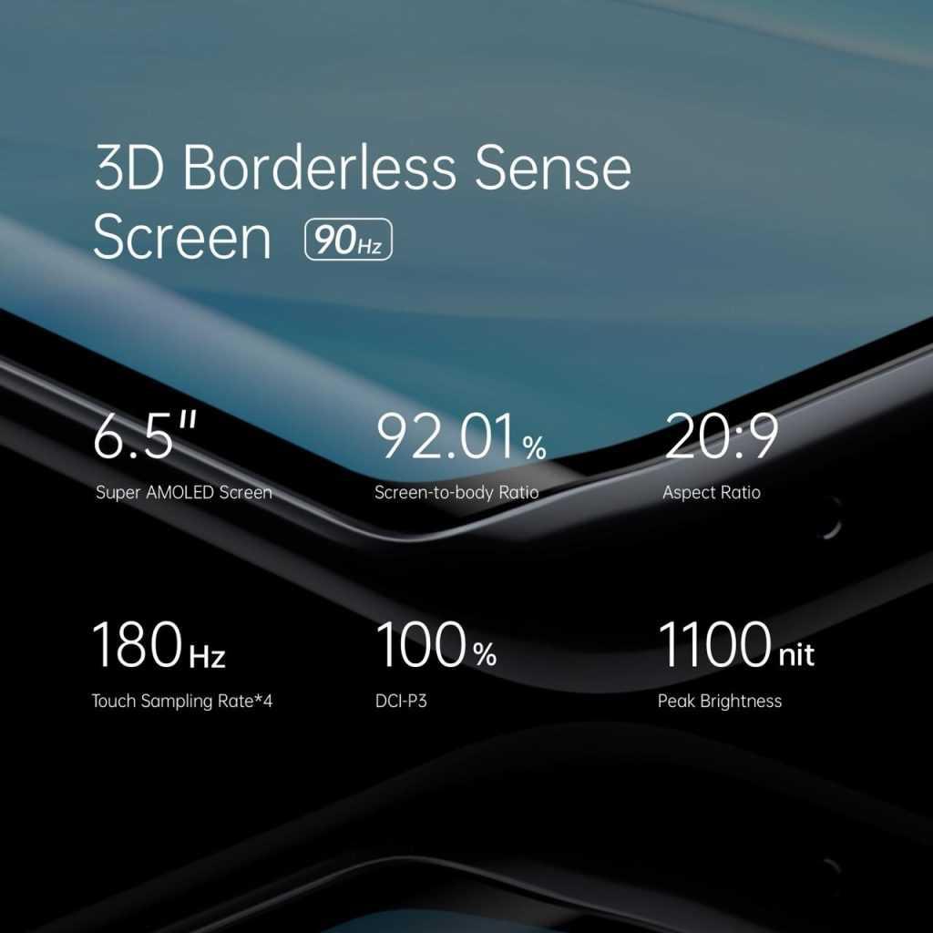 3D Borderless sense