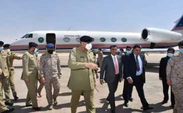 COAS Bajwa saudi arabia arrival
