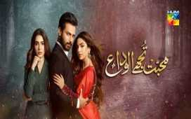 Muhabbat Tujhae Alvida Ep-8 Review
