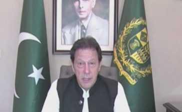 Imran khan's address