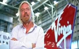 Richard Branson's Virgin Atlantic