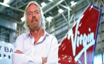 Richard Branson's Virgin Atlantic