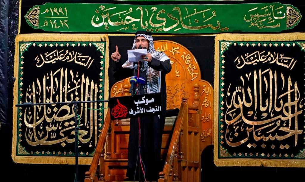 zakir while addressing