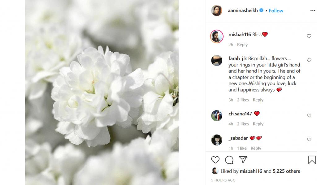 aamina's post