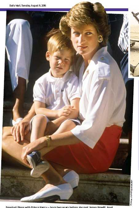 diana with son
