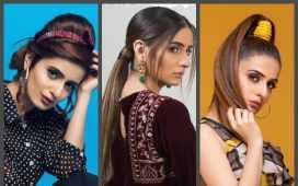 Kaneeze Zainab's best hairstyles