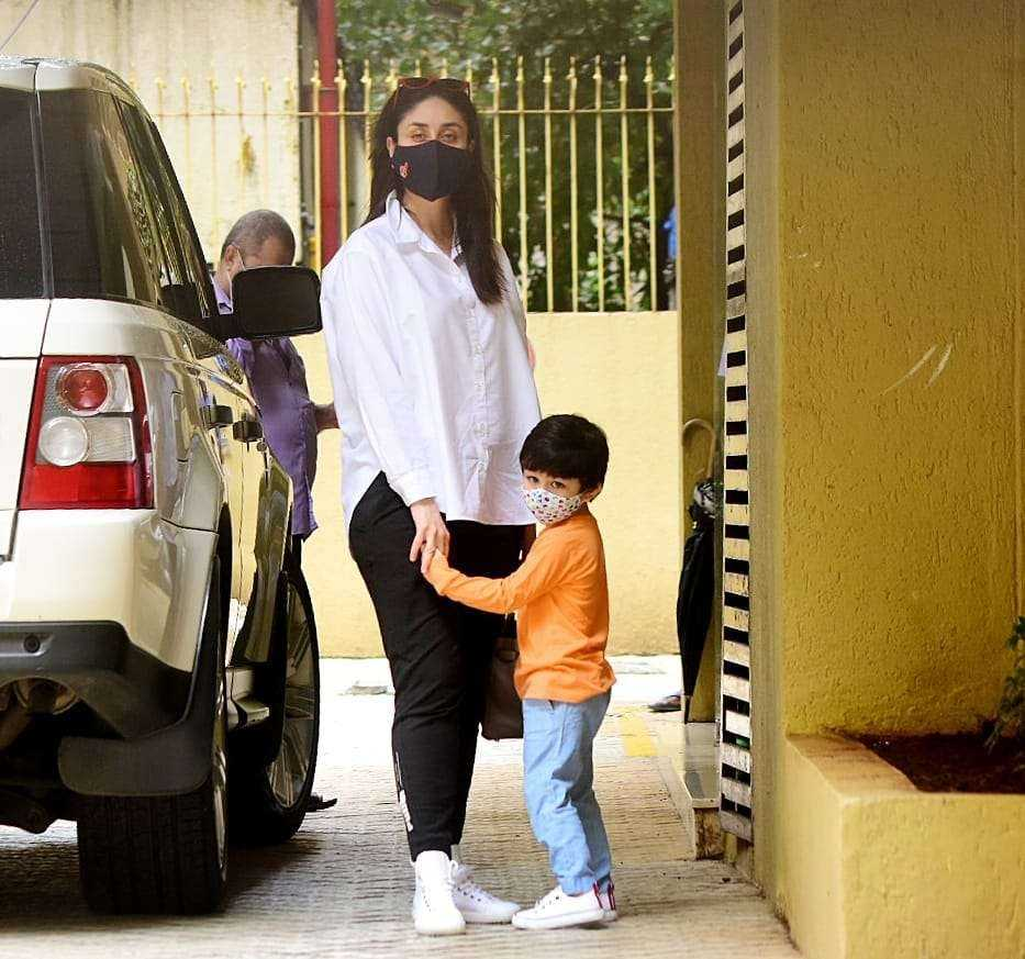 kareena kapoor with son