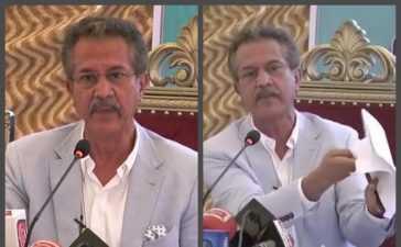 Mayor Karachi Farewell speech
