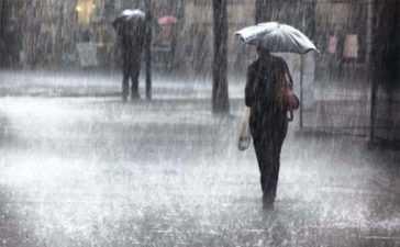 heavy downpours