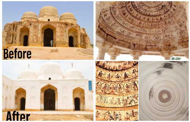 archaeological restoration efforts
