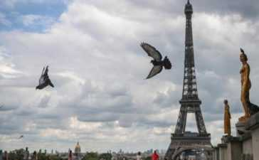 explosion heard in Paris