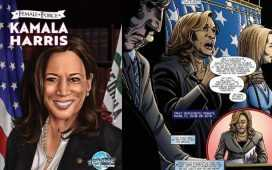 Kamala Harris comic book