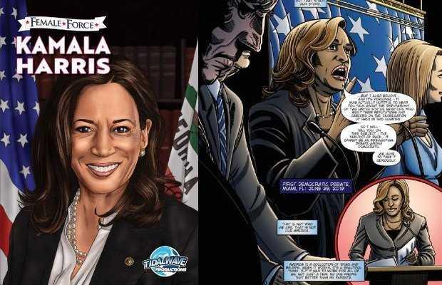 Kamala Harris comic book