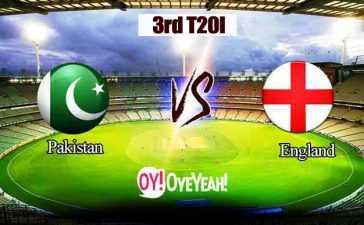 3rd T20I