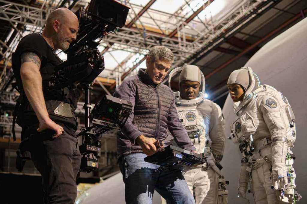 Clooney as Augustine