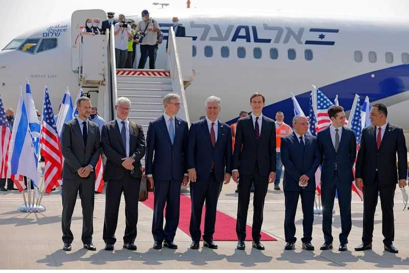 US-Israeli delegation