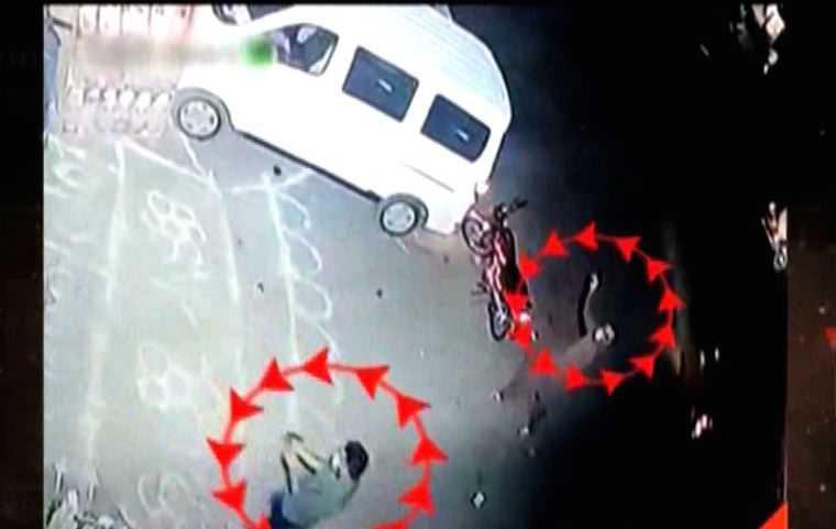 incident CCTV footage
