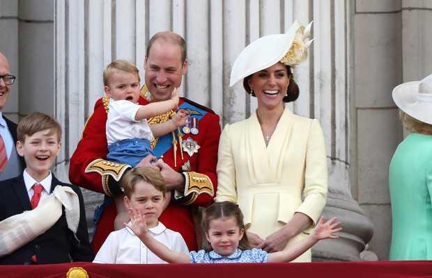 Queen Elizabeth grant-children