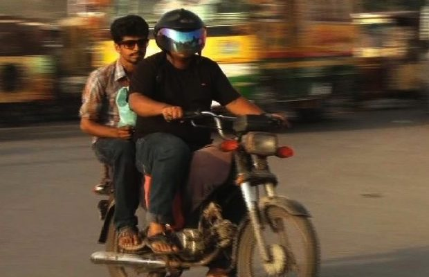 Sindh bans pillion riding