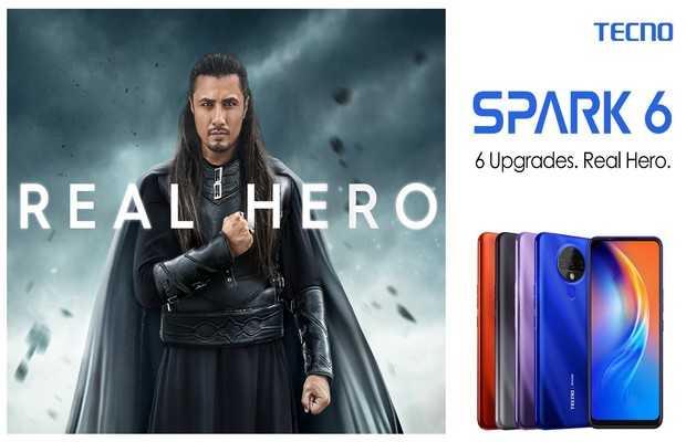 Hero Phone Spark 6