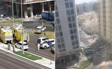 blast in Abu Dhabi