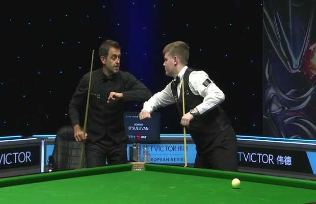 O'Sullivan's first match