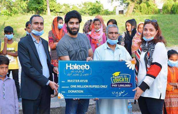 Haleeb cheque