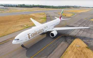 Emirates weekly flights