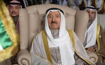 Emir of Kuwait death news