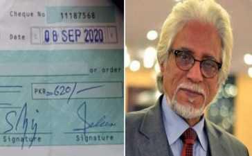 Rashid Mehmood Acting fee