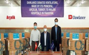 Dawlance donates ventilators
