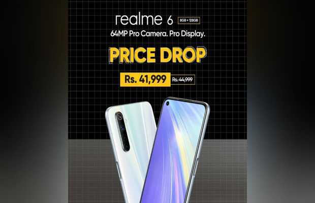 Realme 6 with 90Hz display