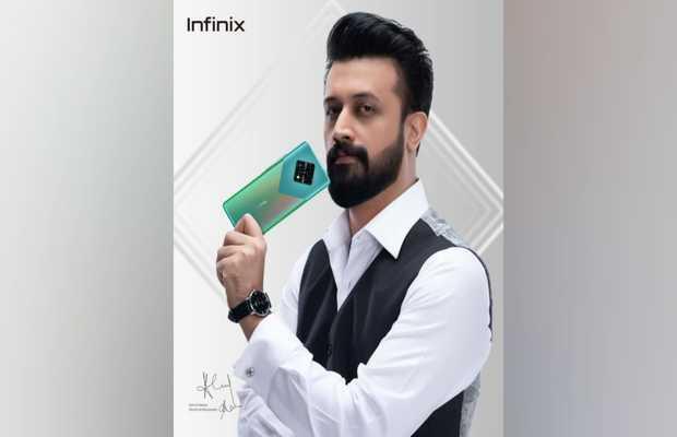 Atif Aslam as infinix ambassador