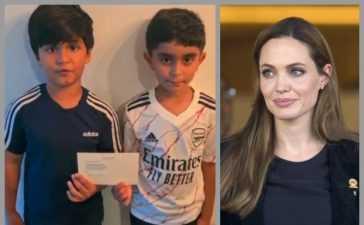 Angelina Jolie donation