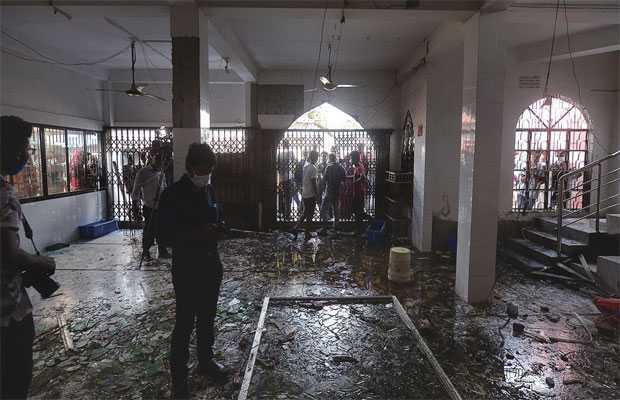 Explosion at Baitus Salah Jame mosque