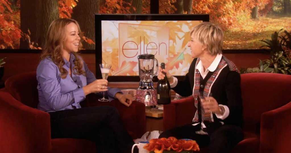 Mariah Carey on Ellen DeGeneres Show