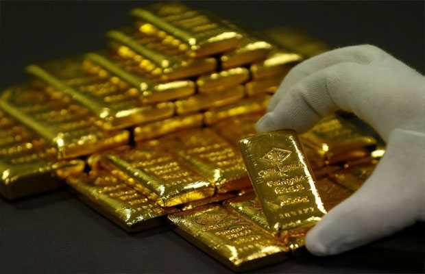 Gold price drops