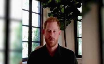 Prince Harry message