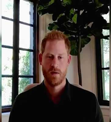 Prince Harry message