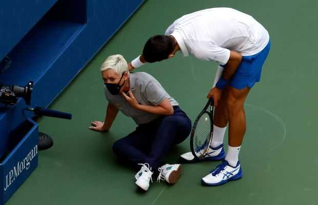 Novak Djokovic fined $10,000 following US Open disqualification