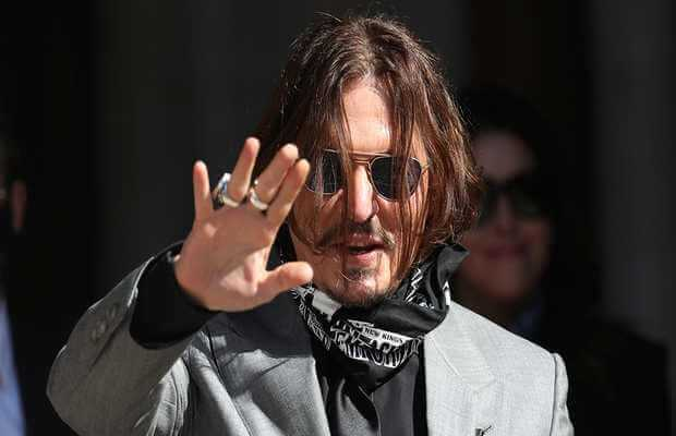 Johnny Depp thanks fans