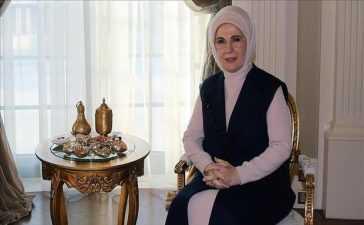 turkey's first lady