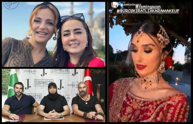 Pakistani top designers signing Turkish Actors